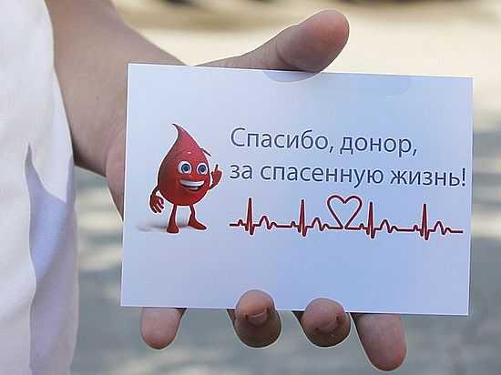 Сколько стоит сдать кровь и плазму как донор?