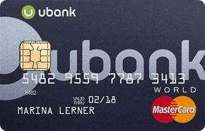 Карта Ubank: что это за программа?
