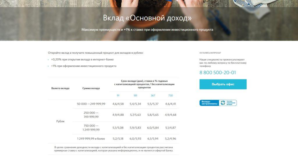 банк открытие калькулятор вкладов