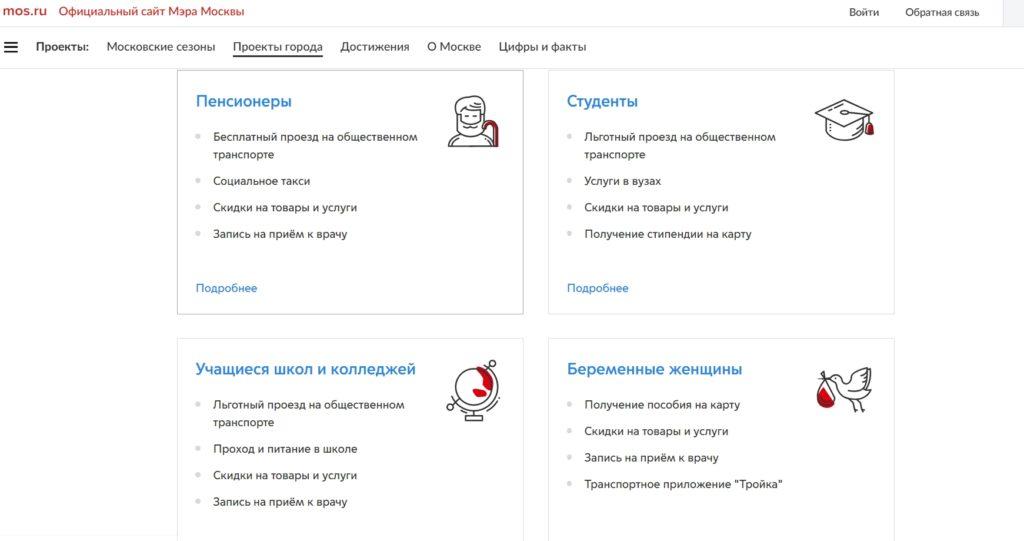 как активировать социальную карту москвича