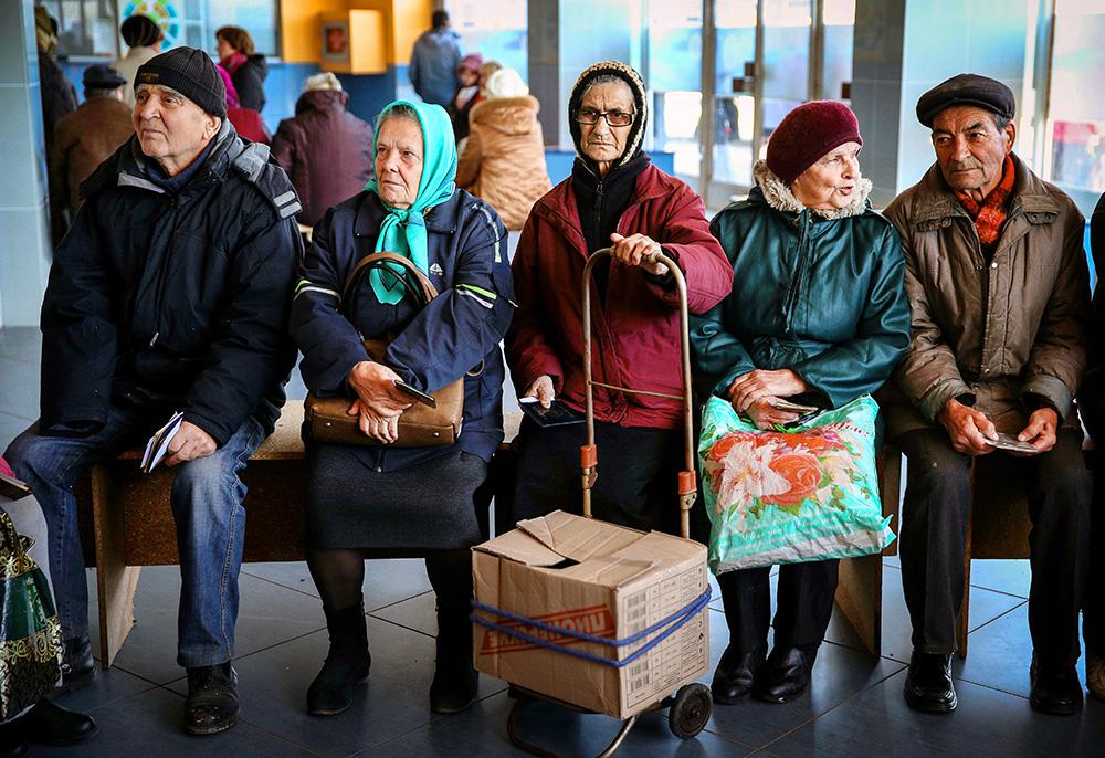какая пенсия на украине