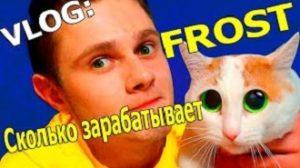 Сколько зарабатывает блоггер Фрост (Frost) из Ютуба: в месяц, год