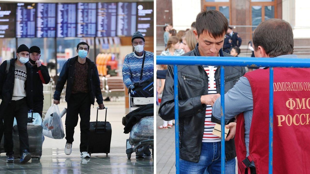 Депортация мигрантов из России после 15 июня 2021 года